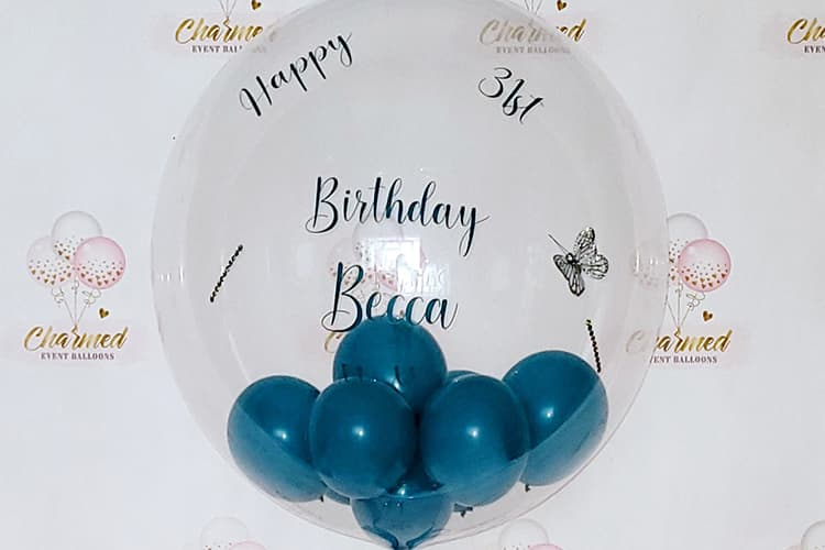 Adult Birthday Party Balloons