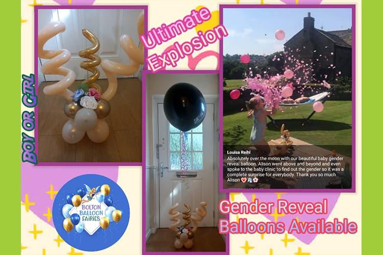 Gender Reveal Balloons